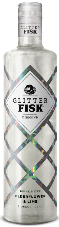 Glitter Fisk Diamond Mixer