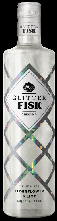 Glitter Fisk Diamond