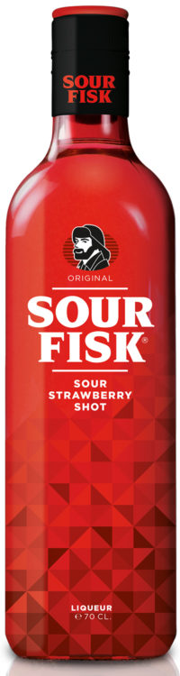 Sour Fisk Sour Strawberry